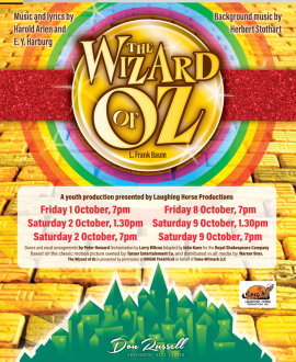 The Wizard of Oz (Youth Musical) - October 1-9, 2021