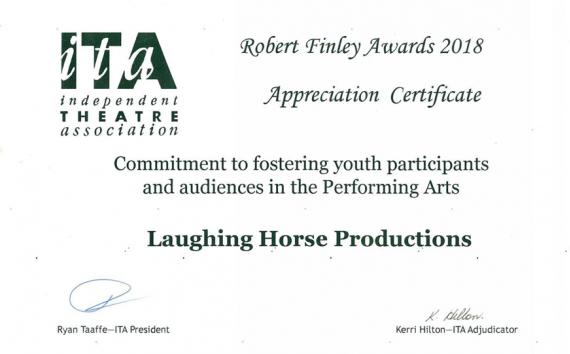 Robert Finley Awards 2018